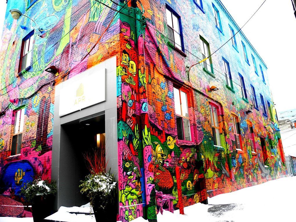 My office building graffiti